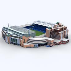 Stamford Bridge Stadium 3D Model