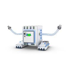 Funny Robot Character 6 3D Model