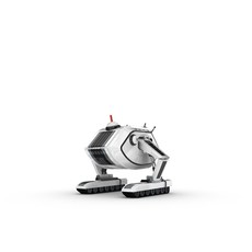 Funny Robot Character 16 3D Model