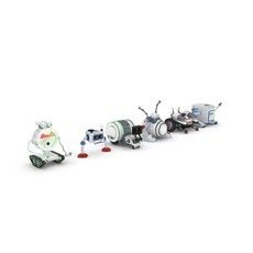 Funny Robots Pack 1 3D Model