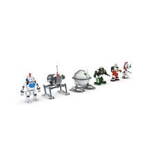 Funny Robots Pack 2 3D Model