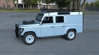 Land Rover Defender 110 Utility Station Wagon w interior HDRI 3D Model