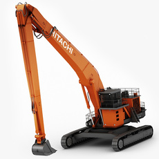 Hitachi EX1900 3D Model