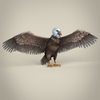23 18 33 720 low poly realistic eagle 06 4