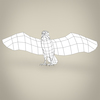 23 18 37 472 low poly realistic eagle 08 4
