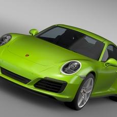Porsche 911 Carrera S Coupe 991 2016 3D Model