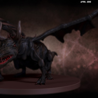 01 final render dragon by yacine brinis cover