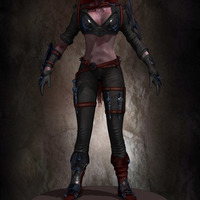 01 final render league of legende female character by yacine brinis cover