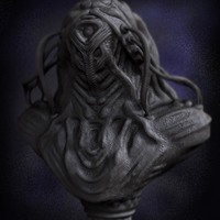 01 render high poly alien prometheus by yacine brinis cover