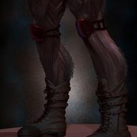 02 final render details man monster by yacine brinis cover