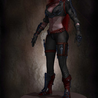 02 final render league of legende female character by yacine brinis cover