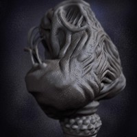 02 render high poly alien prometheus by yacine brinis cover