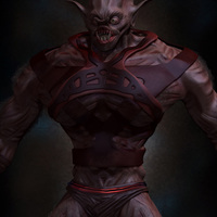 03 final render details man monster by yacine brinis cover
