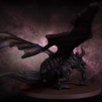 03 final render dragon by yacine brinis cover