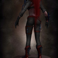 03 final render league of legende female character by yacine brinis cover