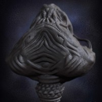 03 render high poly alien prometheus by yacine brinis cover