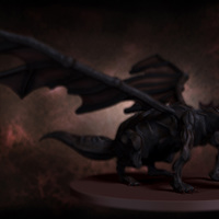 04 final render dragon by yacine brinis cover