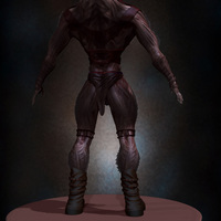 04 final render man monster by yacine brinis cover