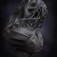 04 render high poly alien prometheus by yacine brinis cover