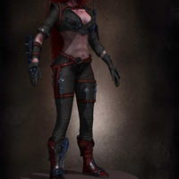 05 final render league of legende female character by yacine brinis cover