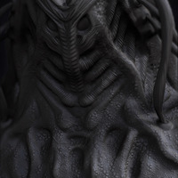05 render high poly alien prometheus by yacine brinis cover