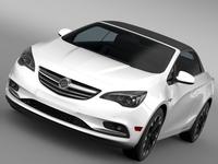 Buick Cascada Turbo 2016 3D Model