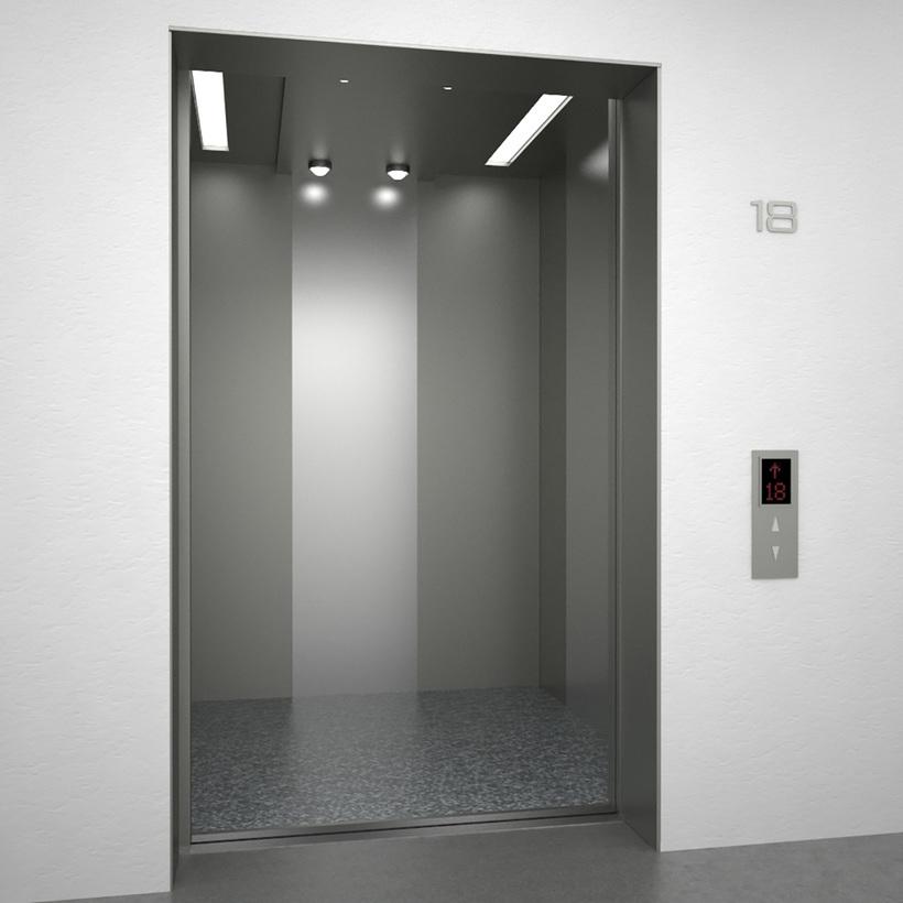 Elevator SJNQ 3D Model