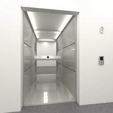 Progress elevator mod.1 3D Model