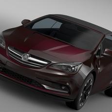 Holden Cascada 2016 3D Model