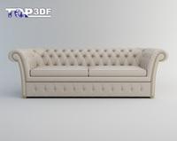 Classical sofa 3D Model