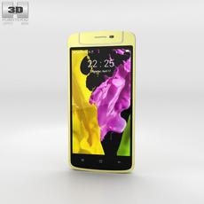 Oppo N1 mini Yellow 3D Model
