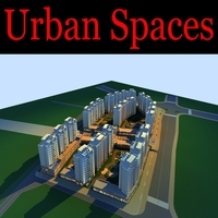 Urban Design 143 3D Model