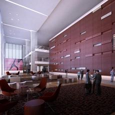 Lobby 124 3D Model