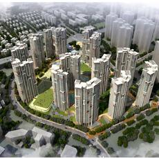 Urban Cityscape 342 3D Model