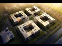 Building Complex 612 3D Model