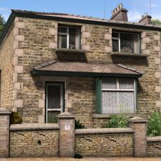 Rural village 3D Model