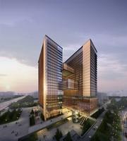 Architecture 012 - Office Skyscraper building 3D Model