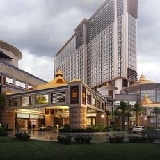 Architecture 027  -hotal building 3D Model