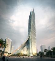 Architecture 029  -Office Skyscraper building 3D Model