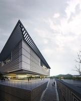 Architecture 037  -Mall building 3D Model