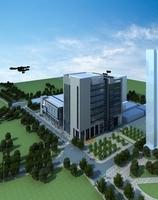 Architecture 625 office Building 3D Model