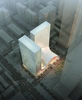 Cityscape Skyscraper 078 3D Model