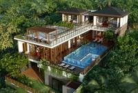 3d Villa 025 3D Model