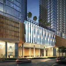 3d City Building 065 3D Model
