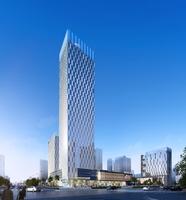 Skyscraper in city 096 3D Model