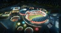 Sports Stadium 003 3D Model