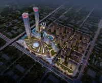 Skyscraper business center 016 3D Model
