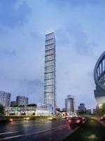 Skyscraper business center 023 3D Model