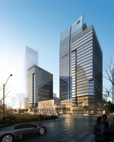 Skyscraper business center 052 3D Model