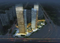 Skyscraper Office Building 004 3D Model